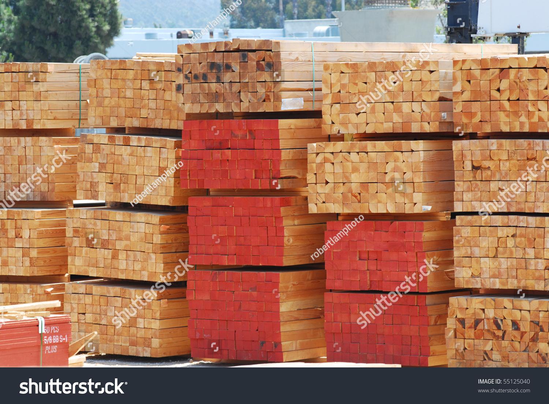 Stacks of lumber stock photo shutterstock