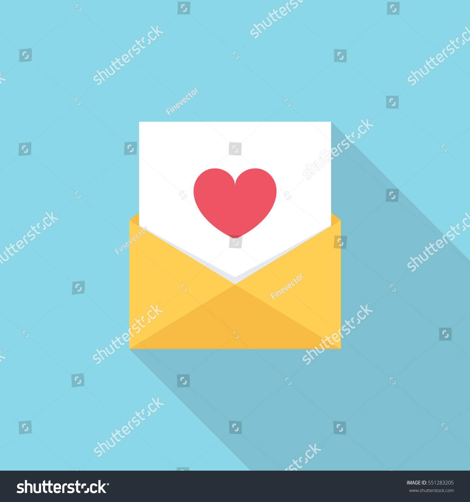 Heart symbol in text message images symbol and sign ideas letter email message heart symbol flat stock vector 551283205 letter email or message with heart symbol biocorpaavc