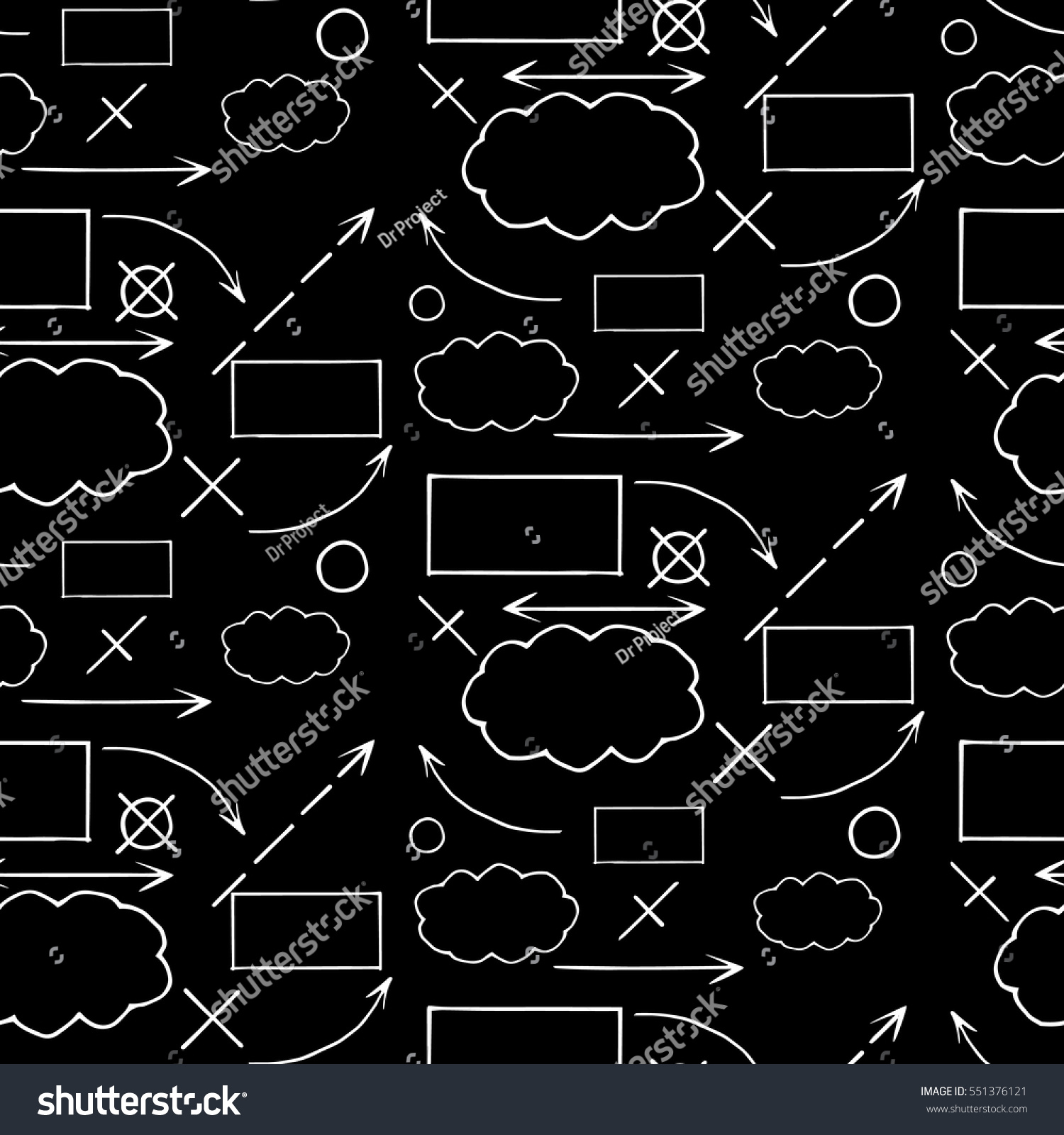 Architectural Engineering Shapes Signs Symbols Vector Stock Vector