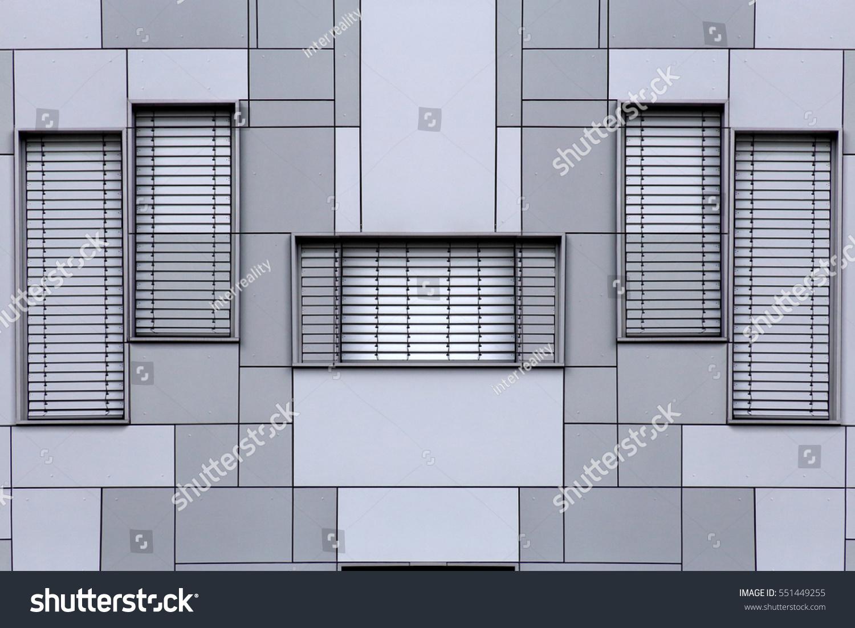 windows blinds jalousie louvers on modular stock photo 551449255 shutterstock. Black Bedroom Furniture Sets. Home Design Ideas