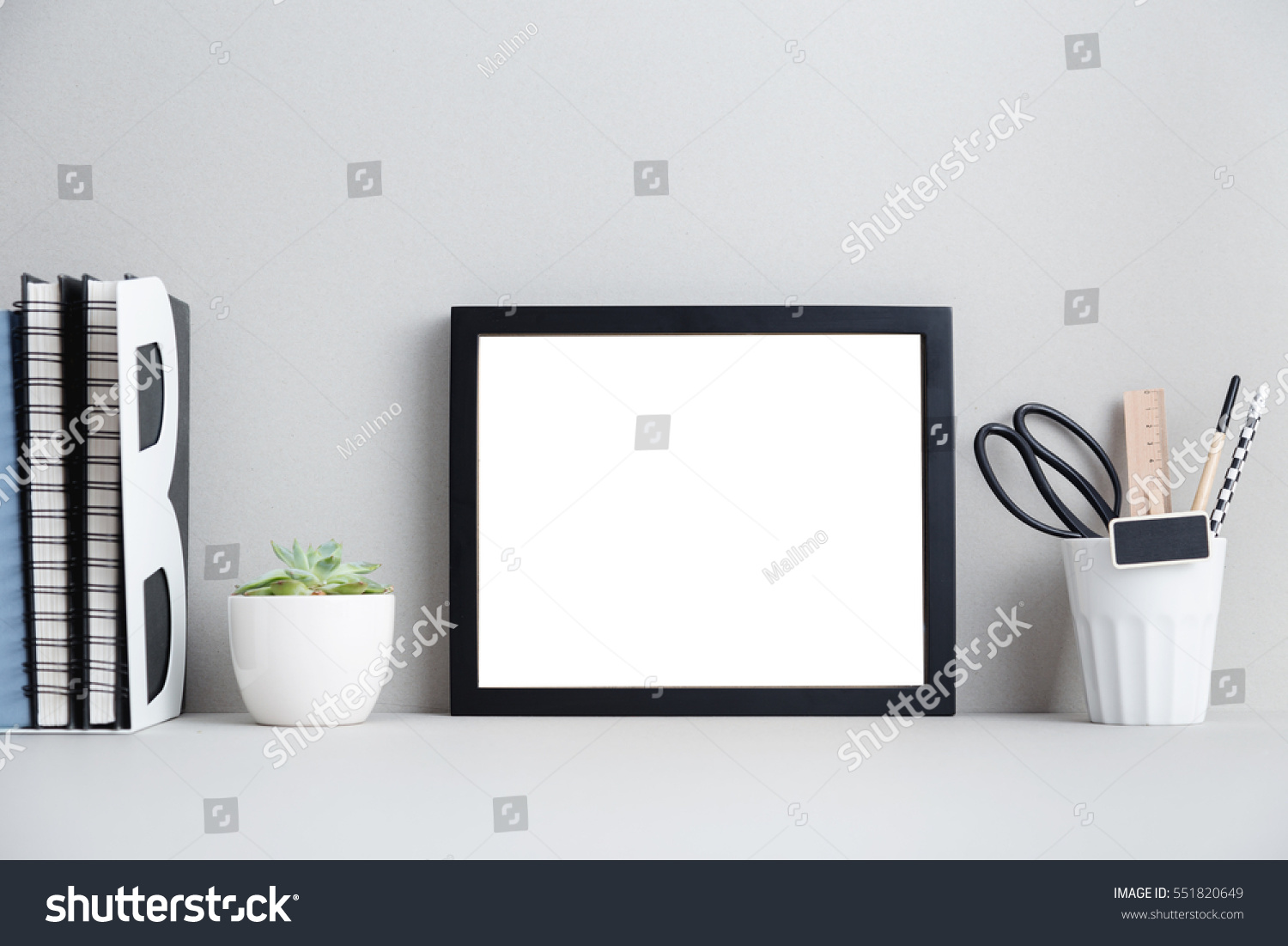 Modern home decor mock up creative stock photo 551820649 for Modern home decor photo gallery