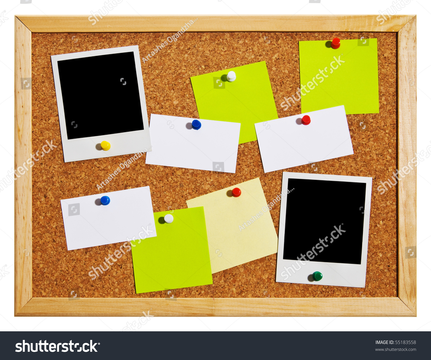 save to a lightbox bulletin board