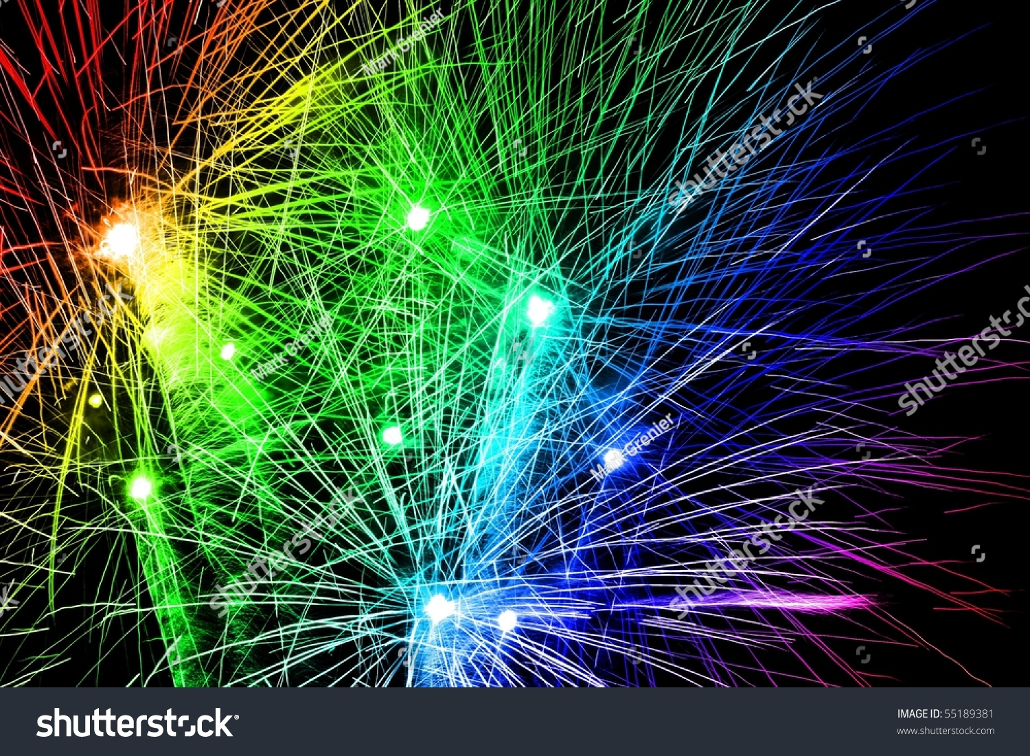 Rainbow Fireworks Wallpaper Pictures to Pin on Pinterest - PinsDaddy