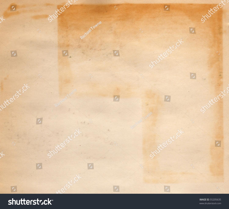 Scanned Vintage Scrapbook Paper Stock Photo Edit Now 55205635