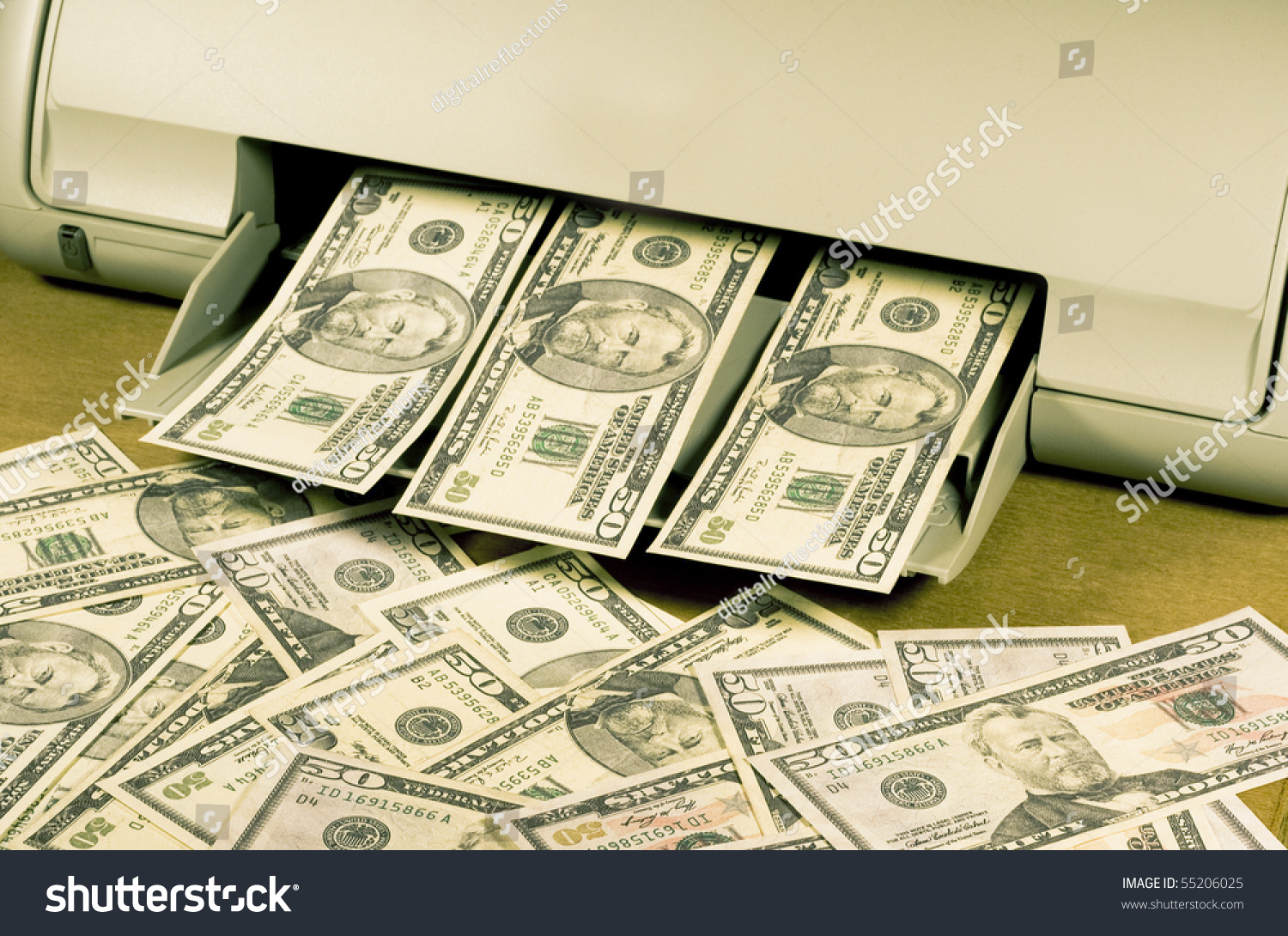 Paper for printing fake money