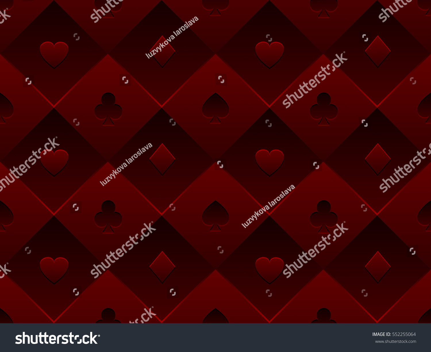 Poker table background - Red Seamless Pattern Fabric Poker Table Minimalistic Casino Vector 3d Background With Texture Composed From