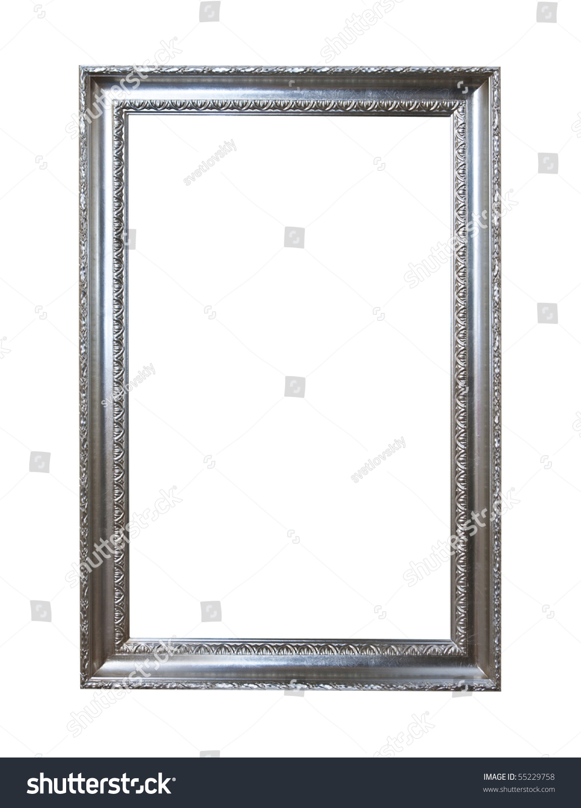Baroque Picture Frames Put Your Own Stock Photo (Royalty Free ...