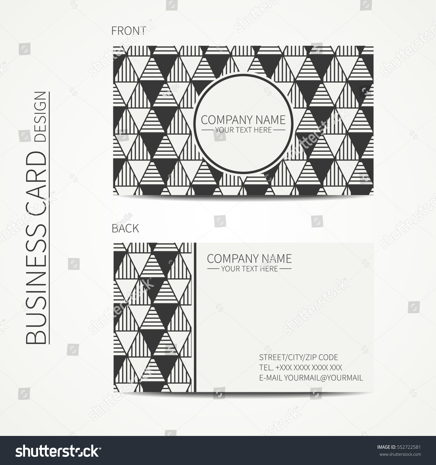 Delta Business Card Choice Image - Free Business Cards