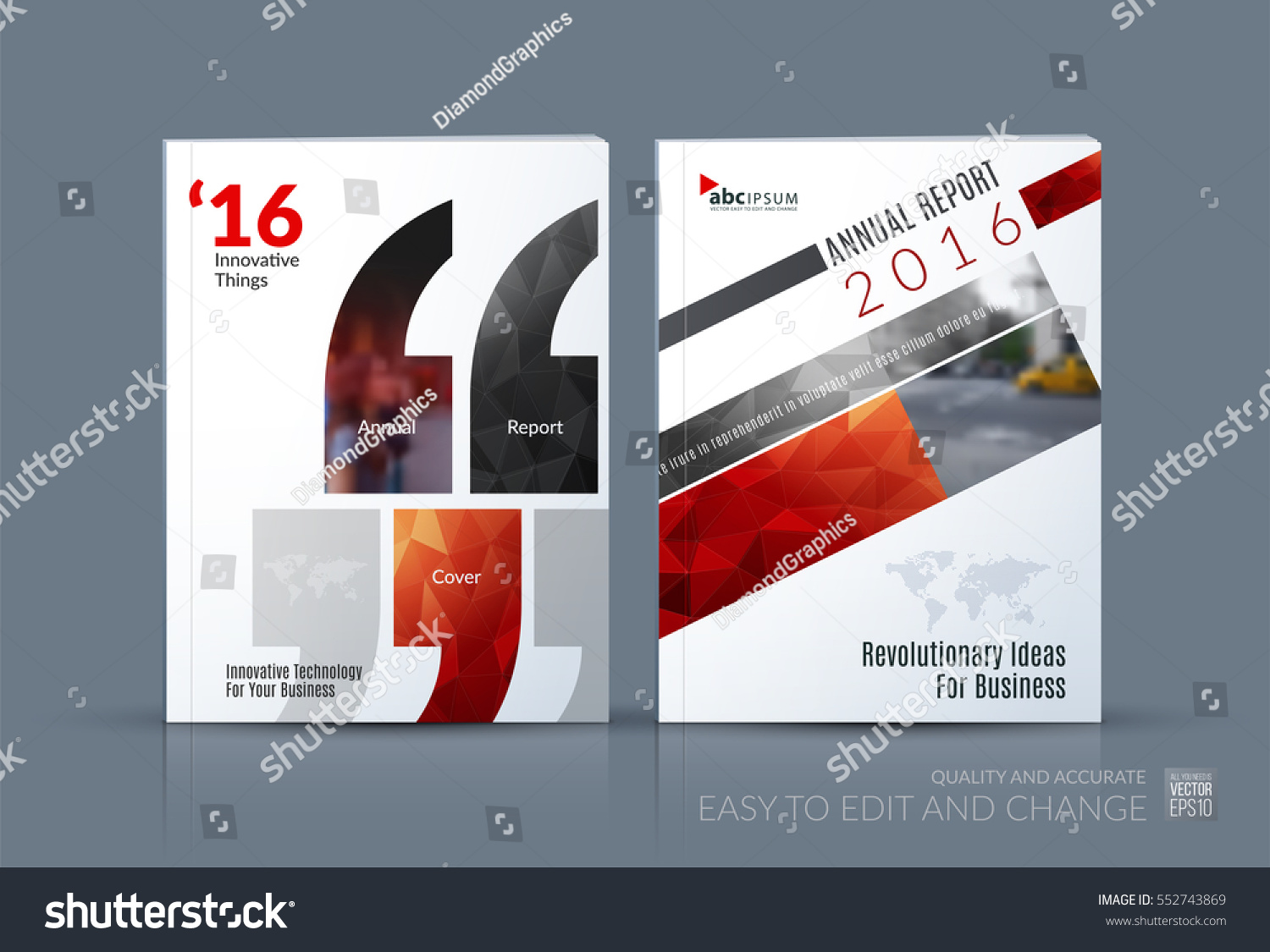 Business Vector Brochure Template Layout Cover Stock Vector Royalty