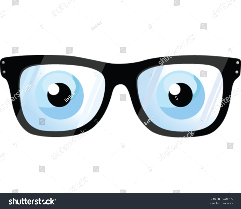Eyeglass Frames For Hazel Eyes : Eye Glasses Ilustracion vectorial en stock 55284235 ...