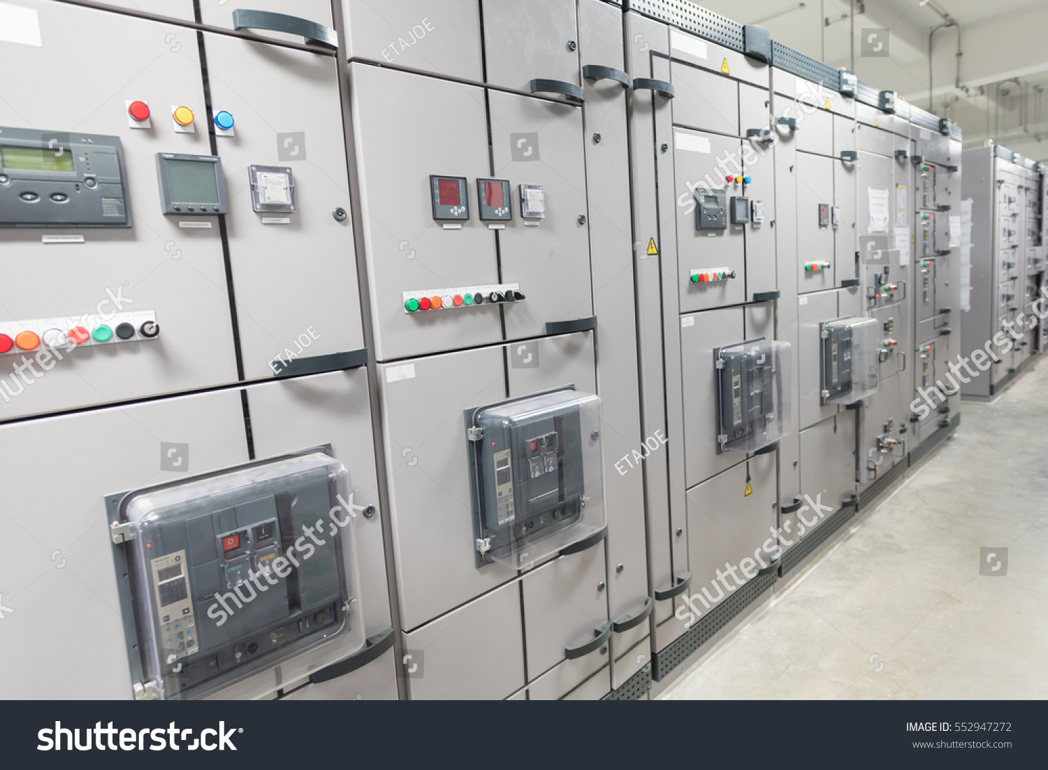Electrical Switchgearindustrial Electrical Switch Panel Stock Photo ...