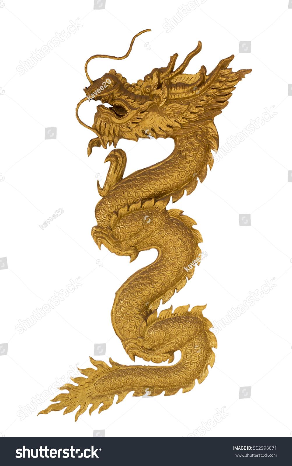 Golden dragon symbol powergolden dragon on stock photo 552998071 the golden dragon is the symbol of powergolden dragon on white background chinese biocorpaavc