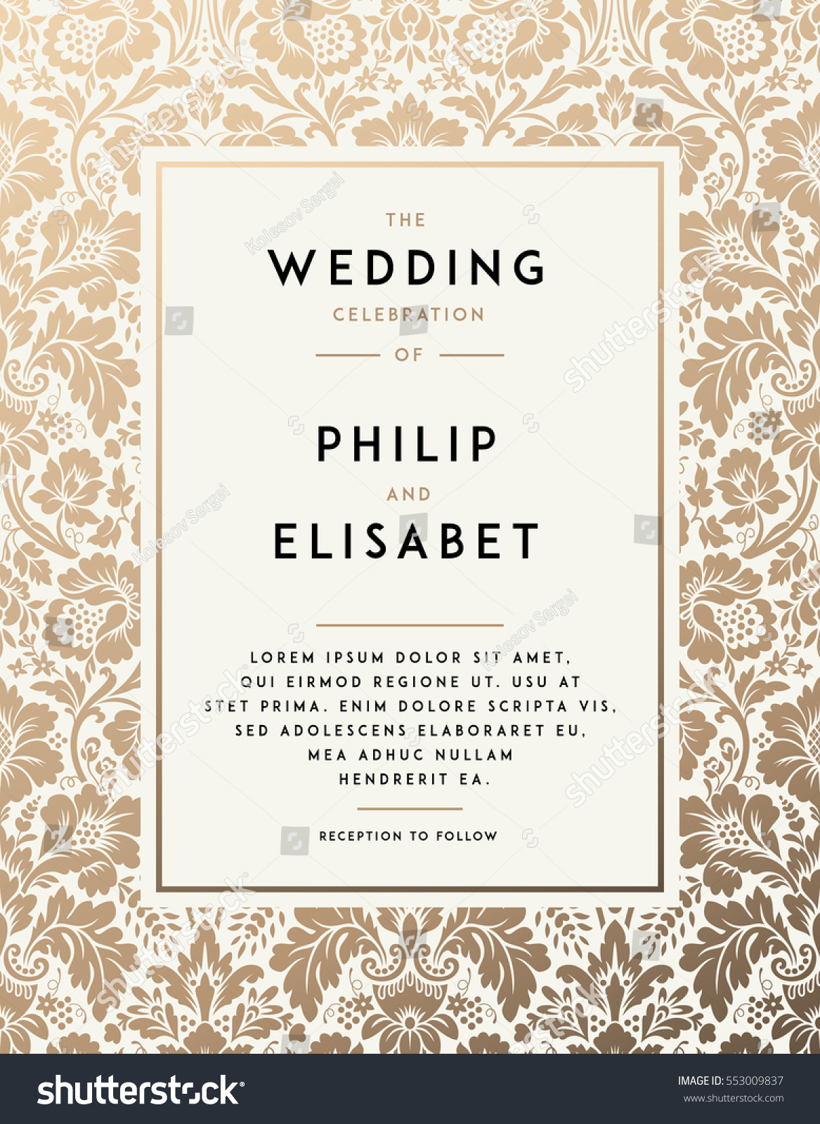vintage wedding invitations vintage wedding invitation templates staruptalent 8323