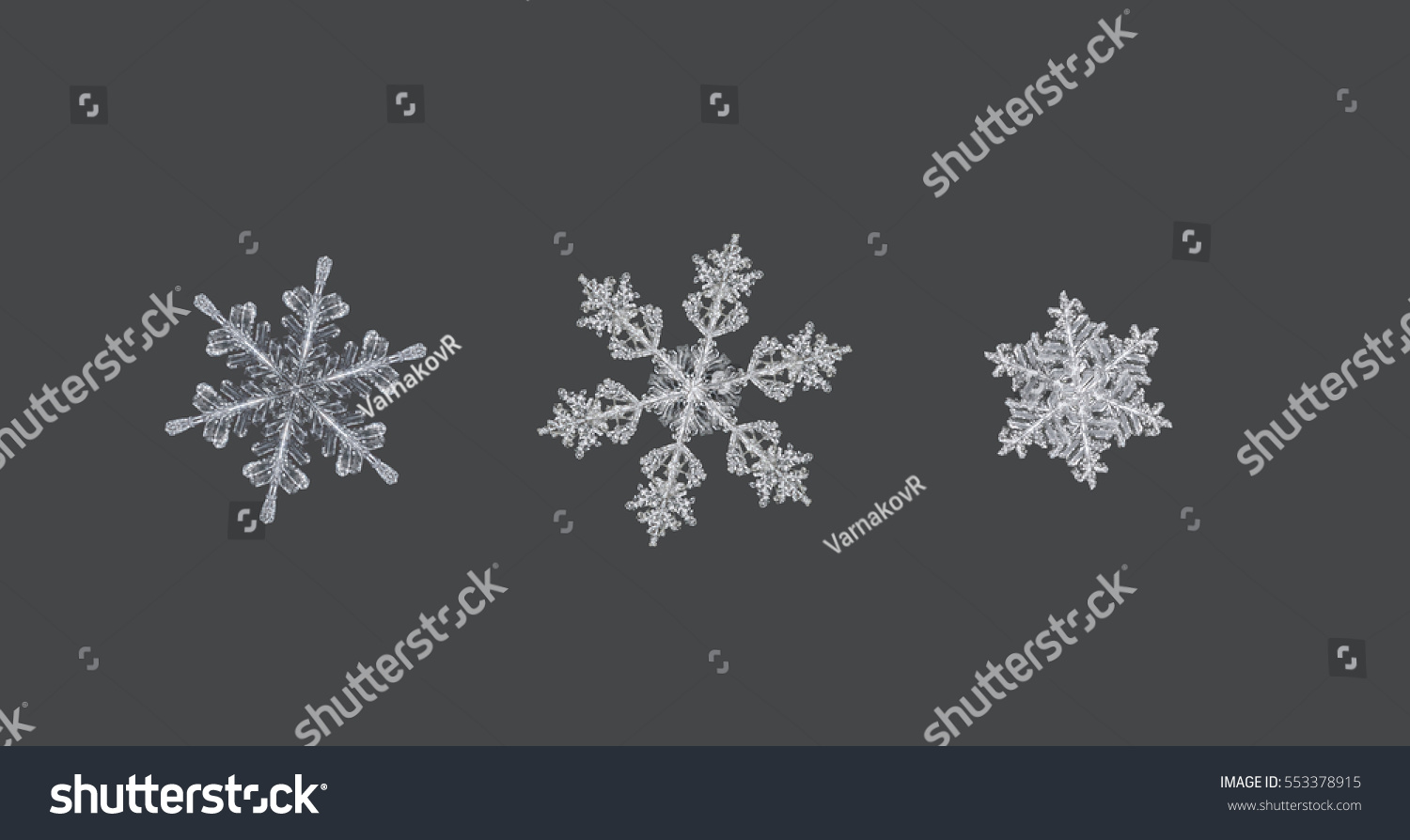 real snowflakes background - photo #23