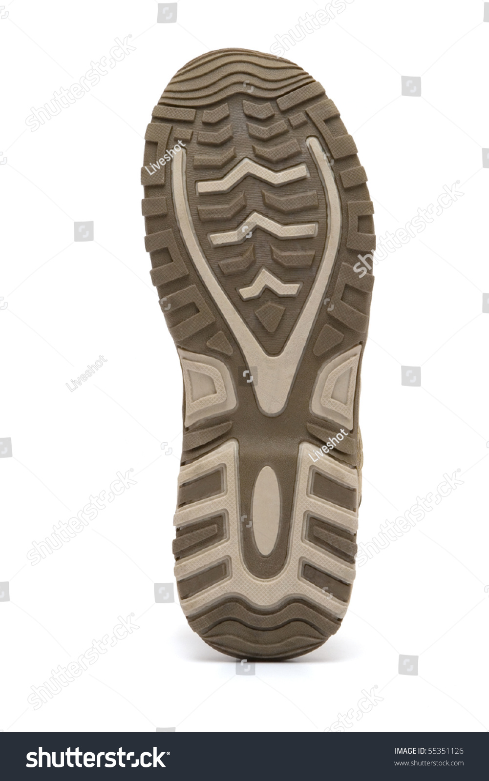 sports shoe sole stock photo 55351126