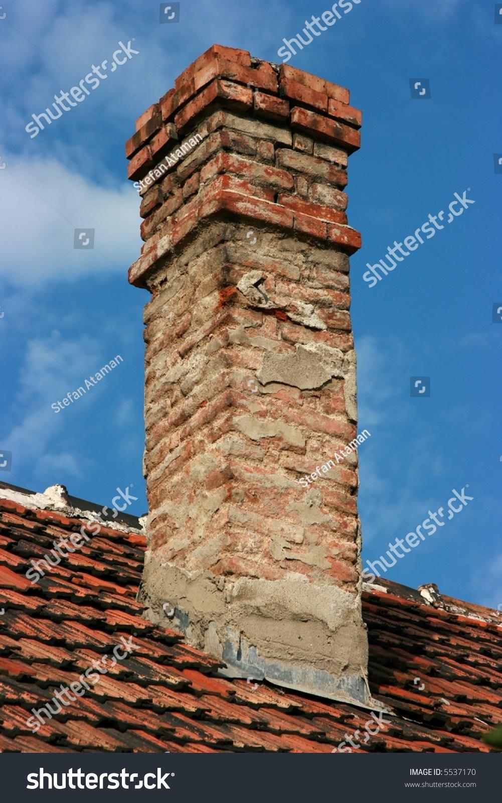 Brick Chimney Stock Photo 5537170 Shutterstock