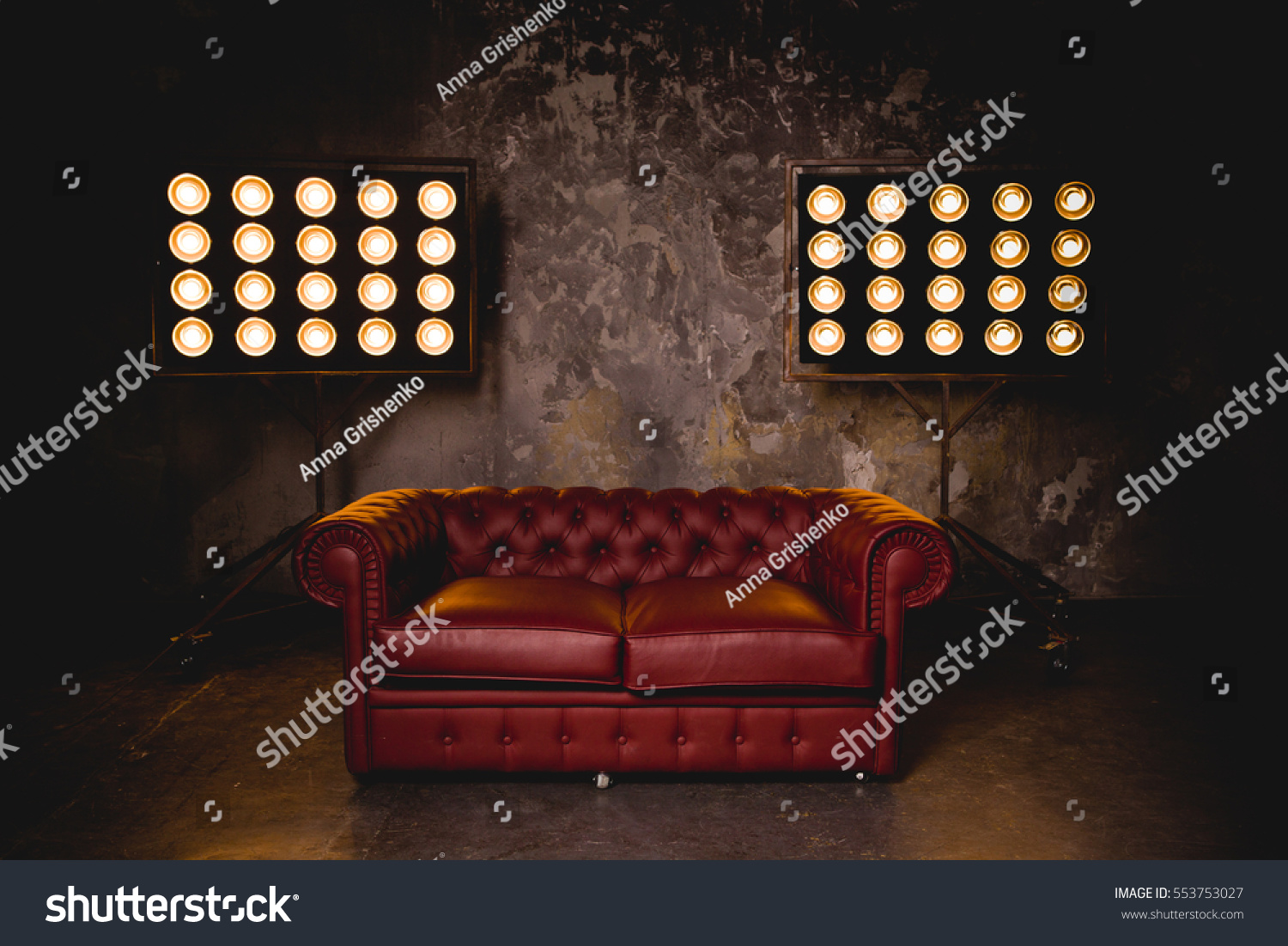 lighting for dark rooms. Lighting For Dark Rooms. Leather Couch In A Room On The Background Of Bright Rooms 2