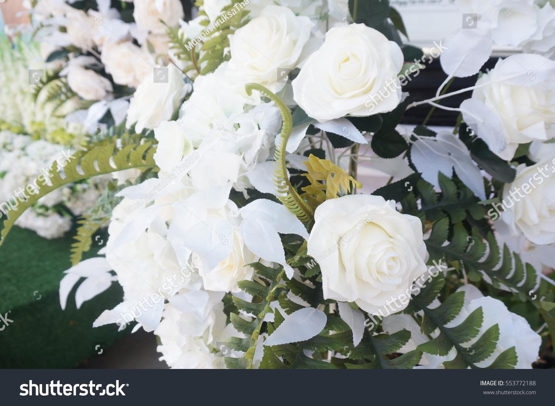 White Rose Symbol Of Pure Love Ez Canvas