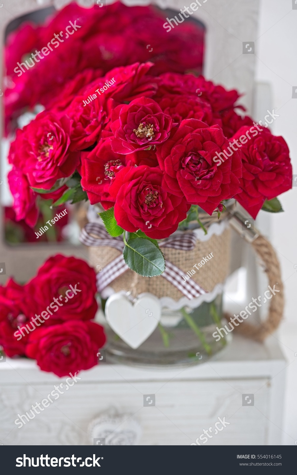 Beautiful red roses lovely bunch flowers stock photo edit now beautiful red roses lovely bunch of flowers autiful fresh roses in a vase decorated izmirmasajfo