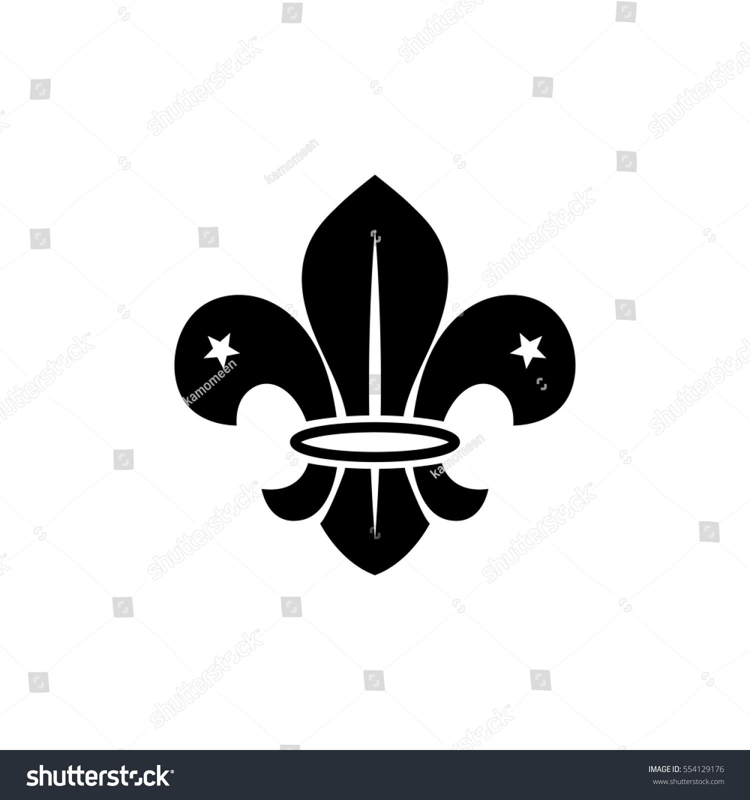 Fleur De Lis French Symbol Design Stock Vector Royalty Free