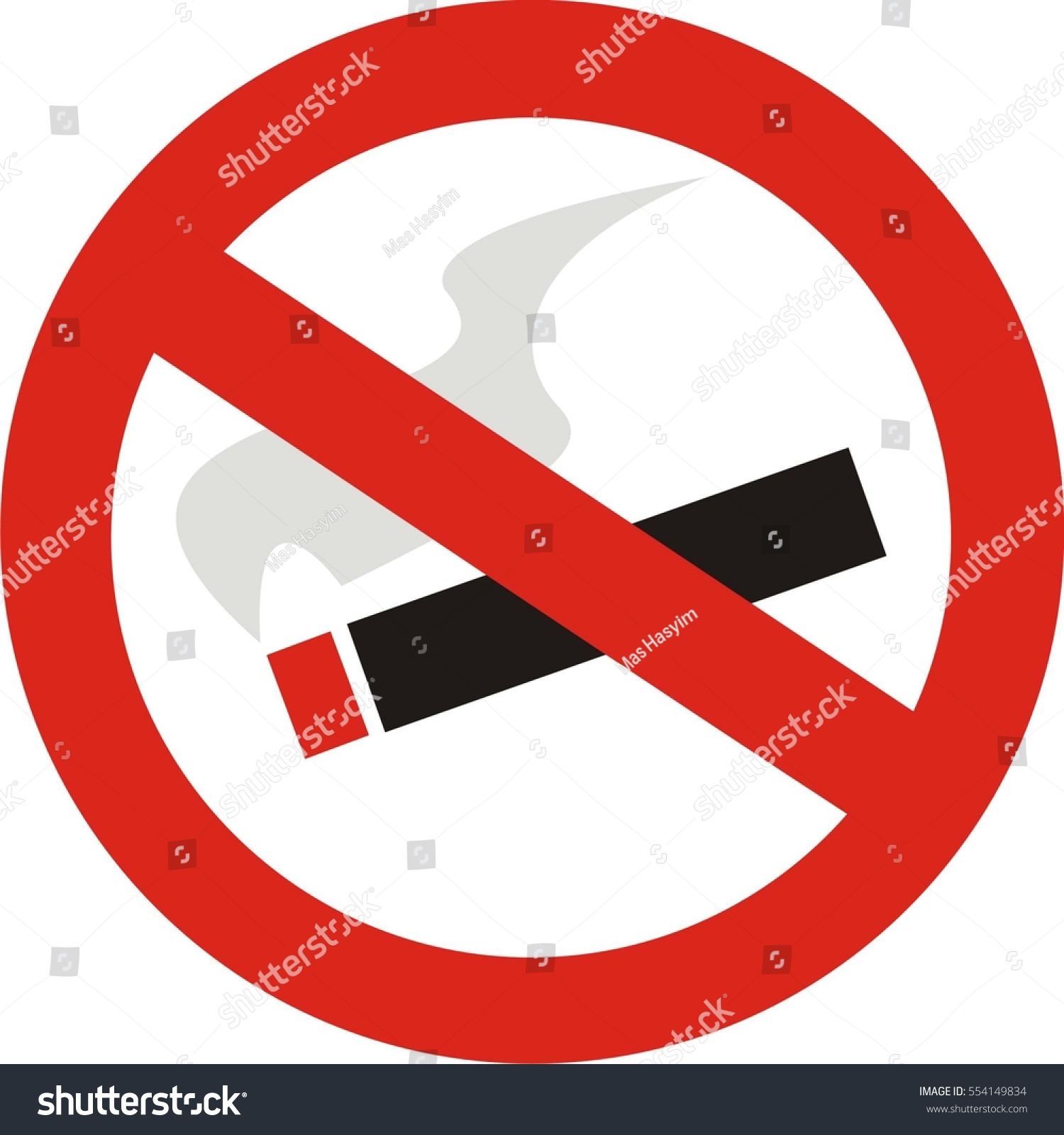 No smoking symbol stock vector 554149834 shutterstock no smoking symbol buycottarizona Images