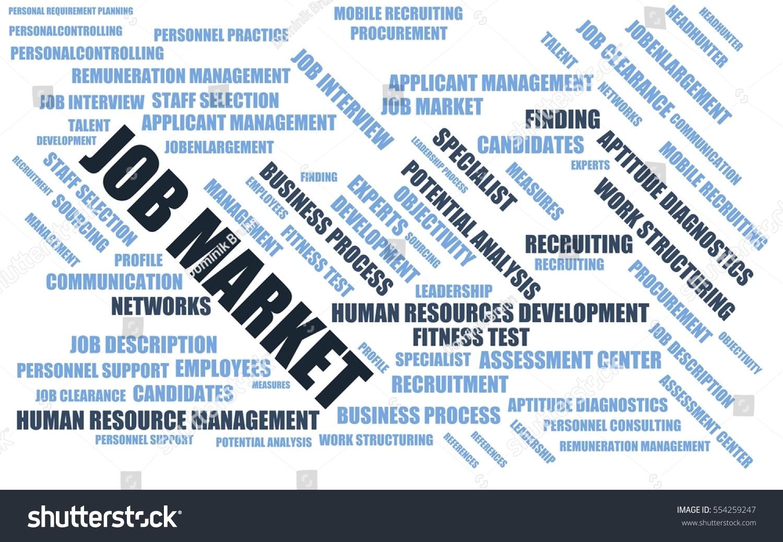 job market word cloud wordcloud terms stock illustration  job market word cloud wordcloud terms about recruiting