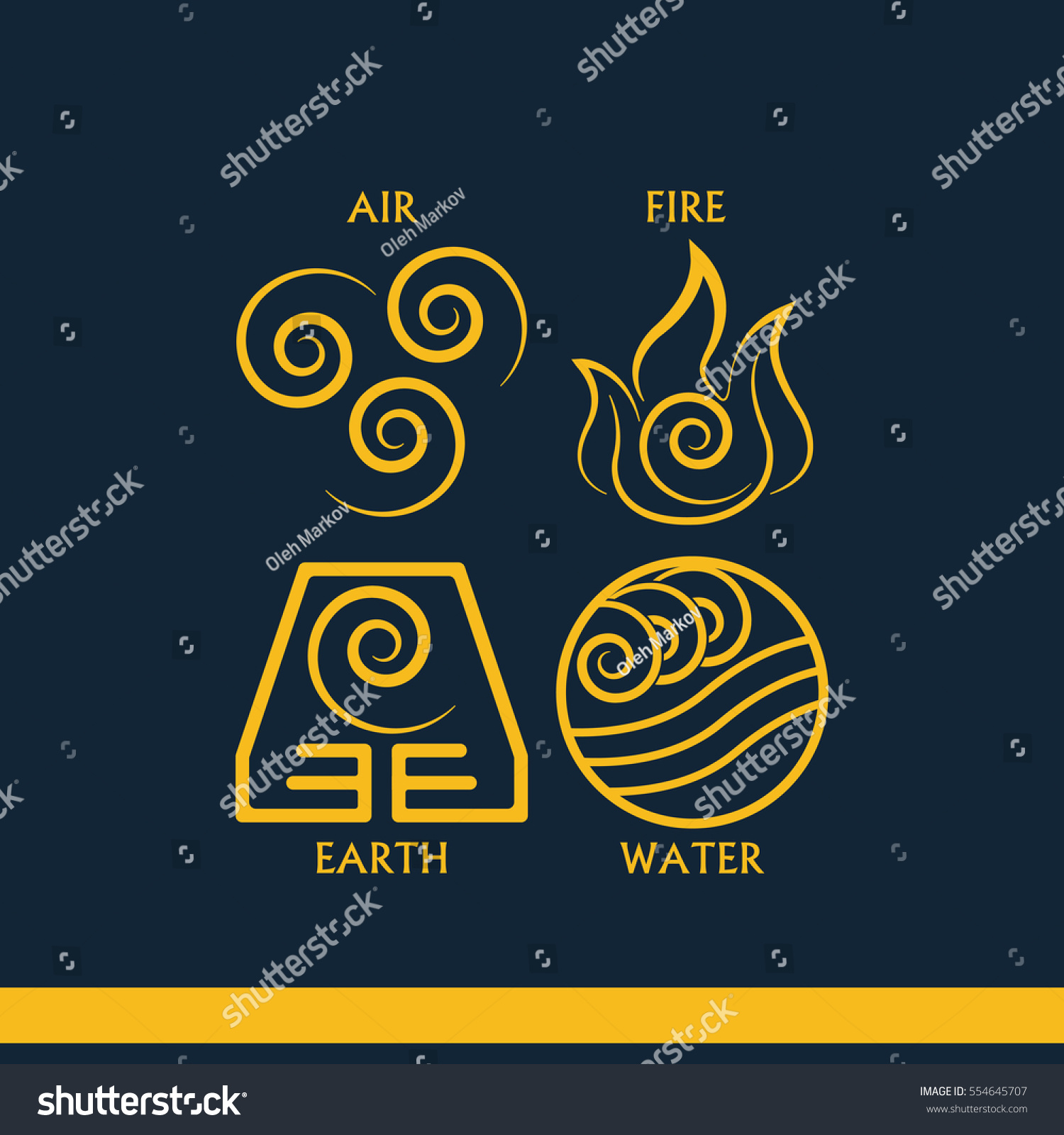 Ancient symbols four elements subscribe stock illustration ancient symbols of four elements with subscribe buycottarizona