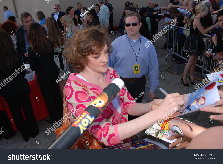 Hollywood Ca June 13 Actress Joan Stock Photo Edit Now 55474663