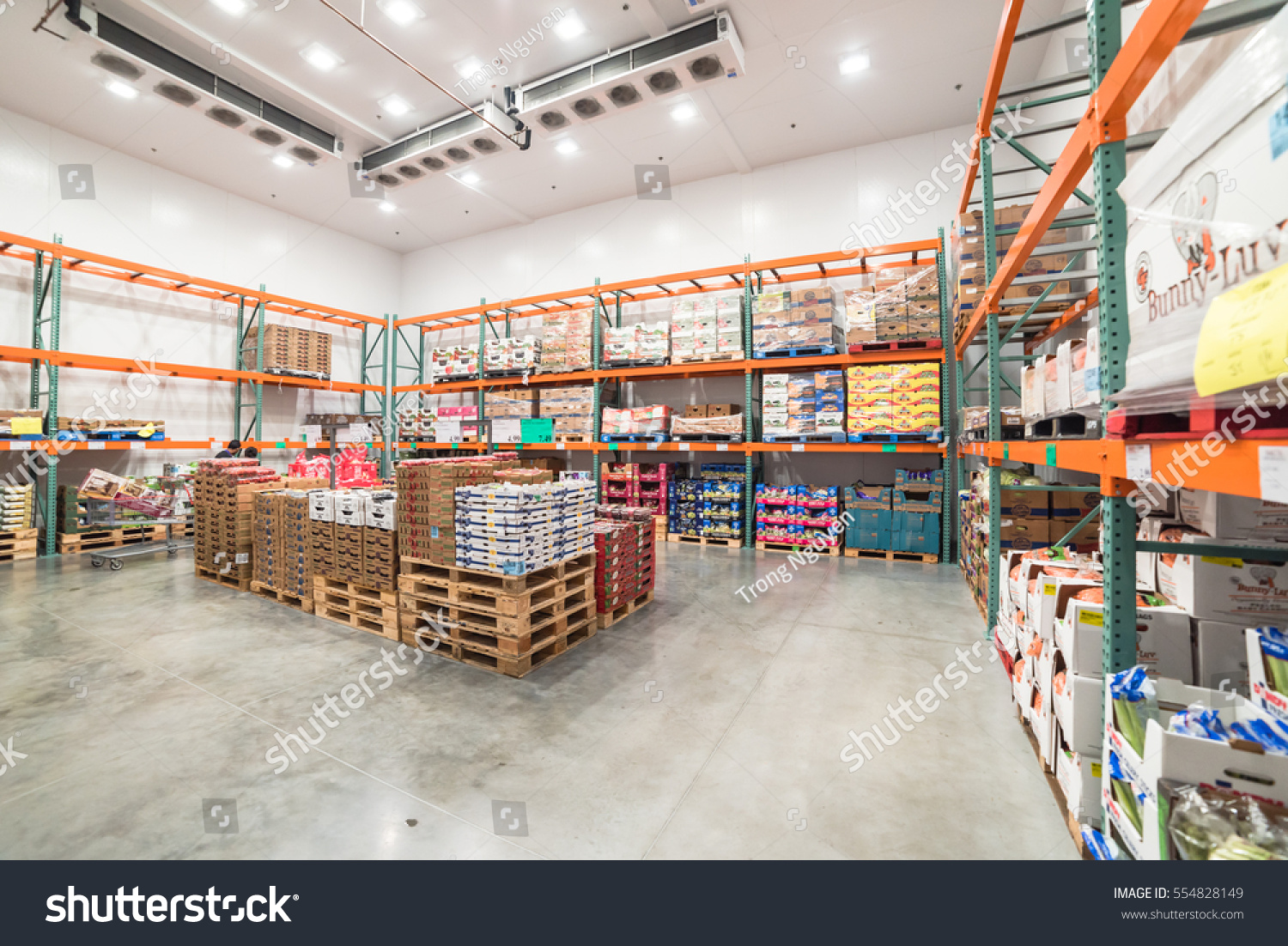 Humble tx us jan 12 2017 fresh stock photo image royalty free humble tx us jan 12 2017fresh produce refrigerated room in thecheapjerseys Gallery