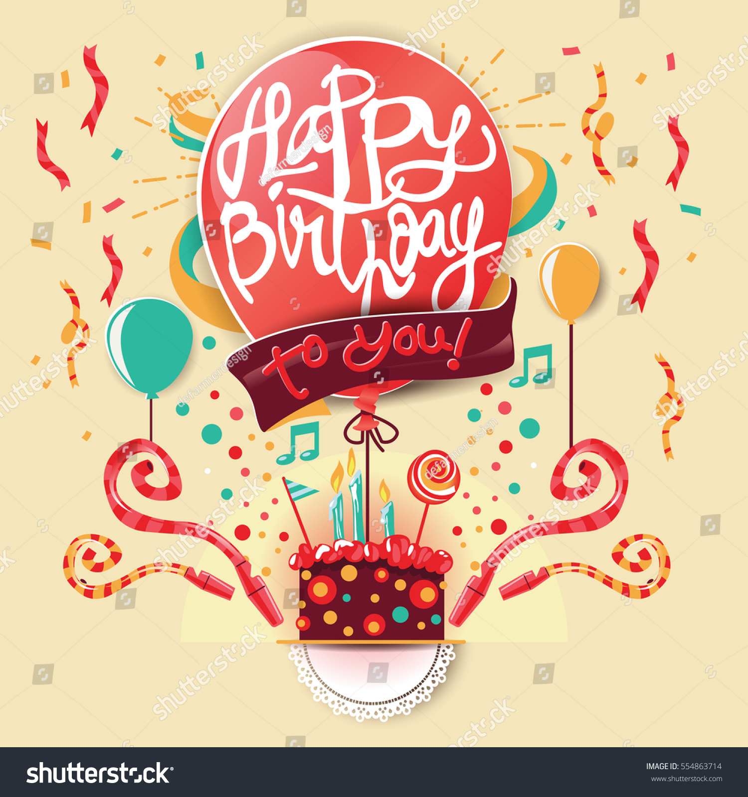 Birthday Greeting Cards Design Vector 554863714 Shutterstock – Birthday Greeting Cards Images