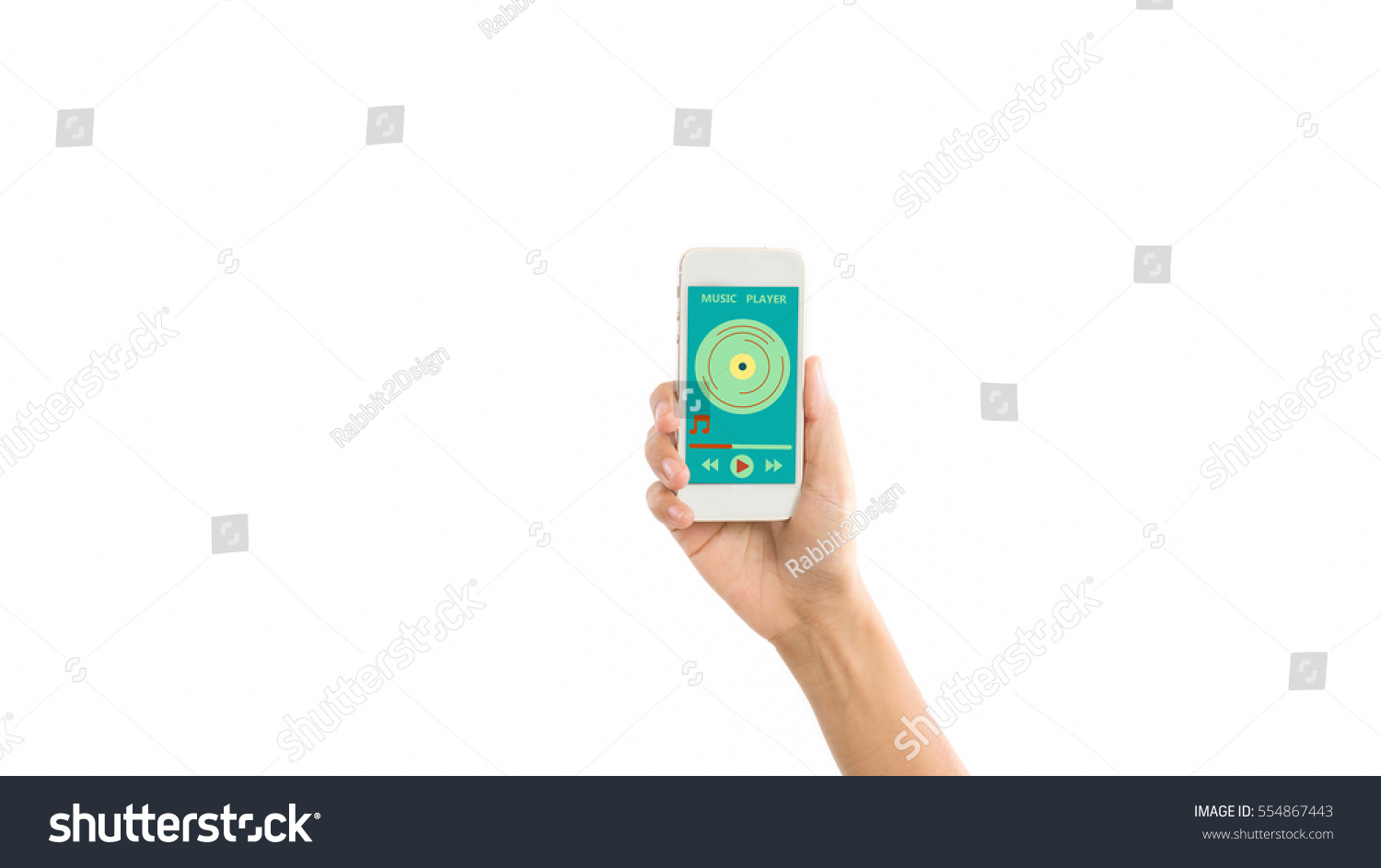 Music Audio Mp3 Player Podcast Song Stock Photo (Edit Now
