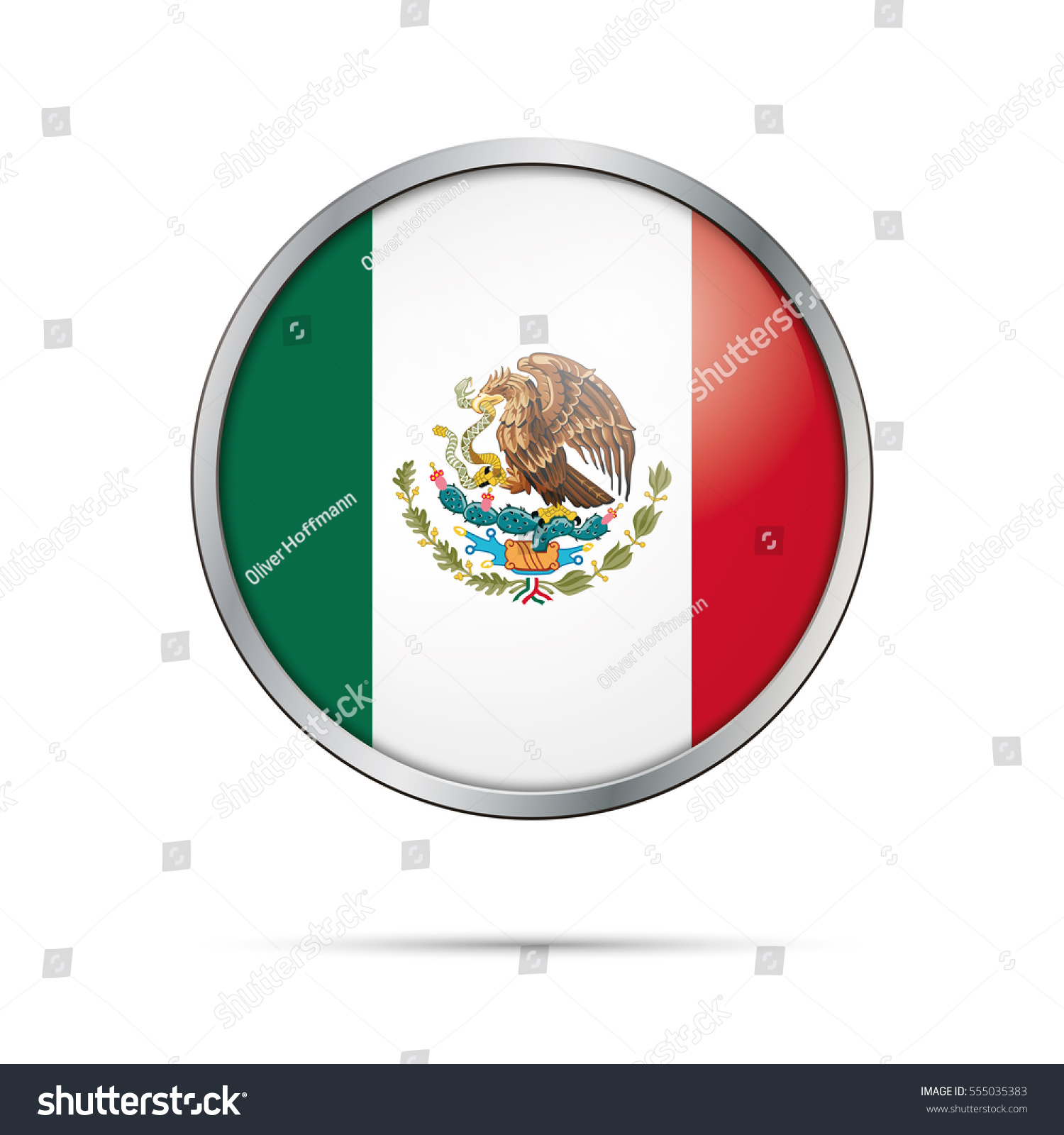 vector mexican flag button mexico flag stock vector hd royalty free rh shutterstock com