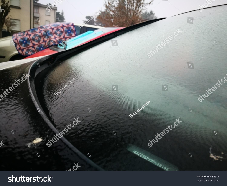 Ice Rain Sky On Reggio Emilia Stock Photo Edit Now 555158335