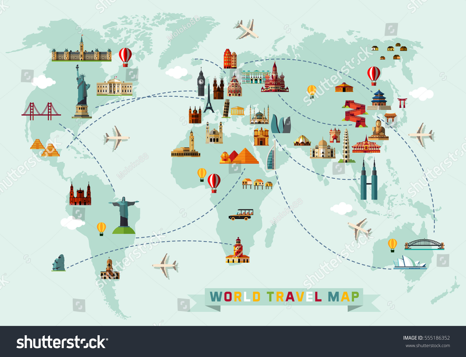 world travel map vector illustration stock vector Globe Logo Vector World Globe Icon
