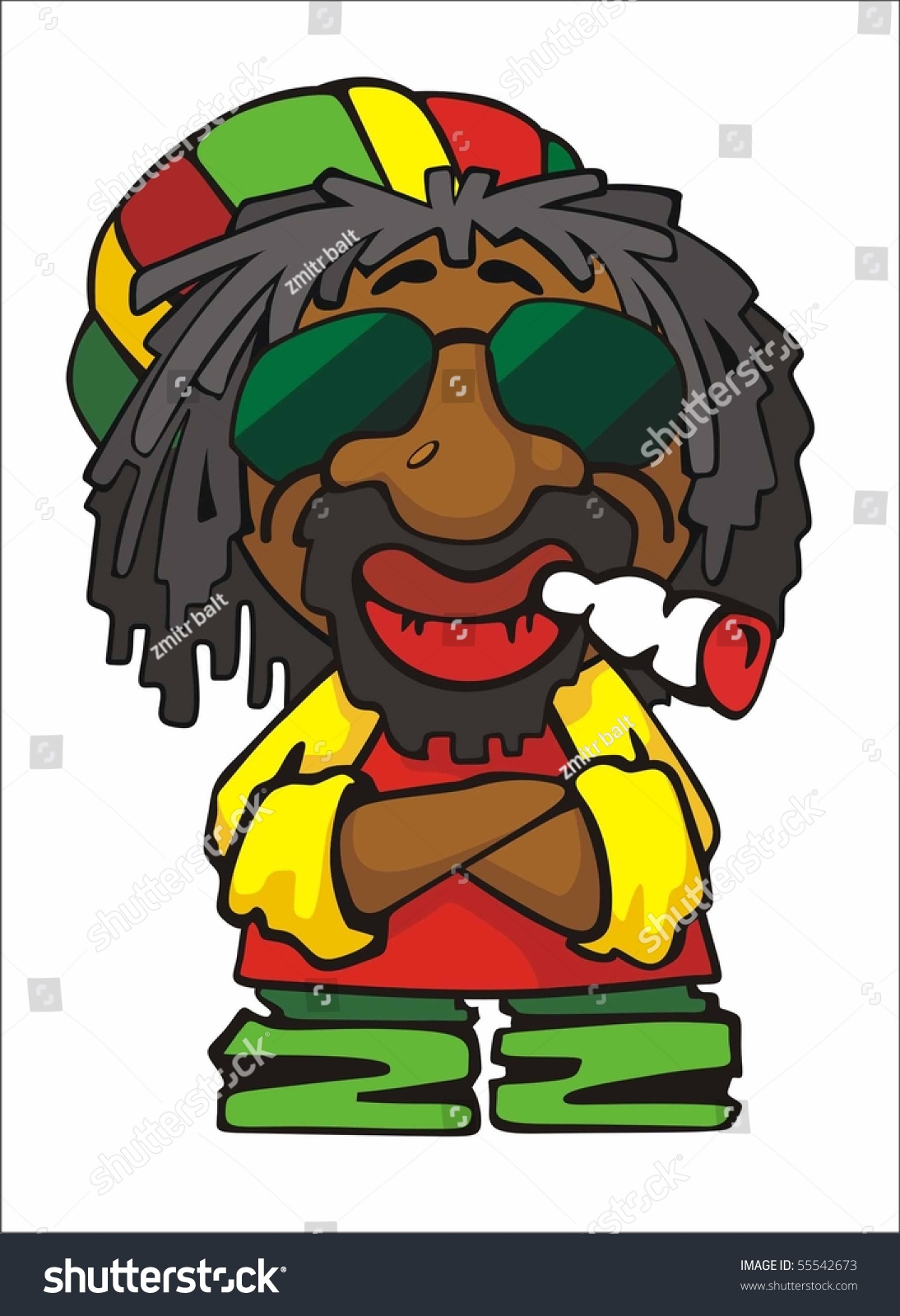 Jamaican Man Clipart List of Synonym...