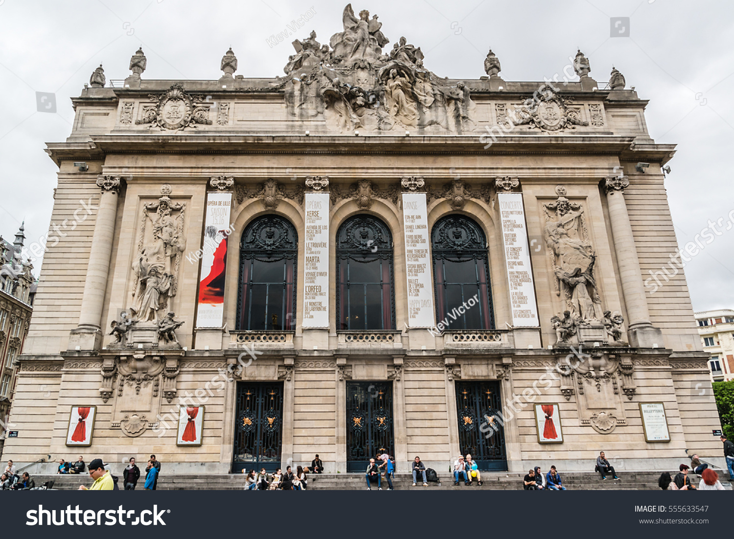 Lille france june 12 2016 architecture stock photo for Archi lille
