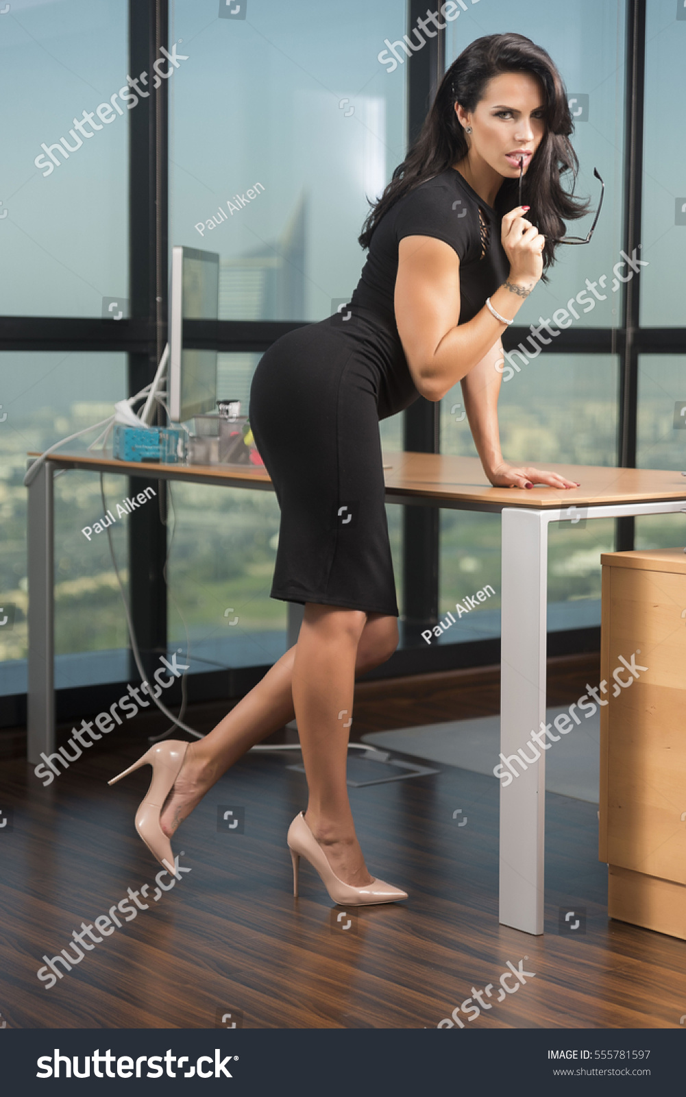 Sexy Corporate Woman Or Secretary In Stock Photo -5516