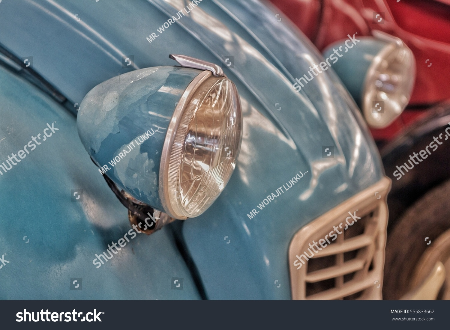 Vintage Car Parts Stock Photo 555833662 - Shutterstock