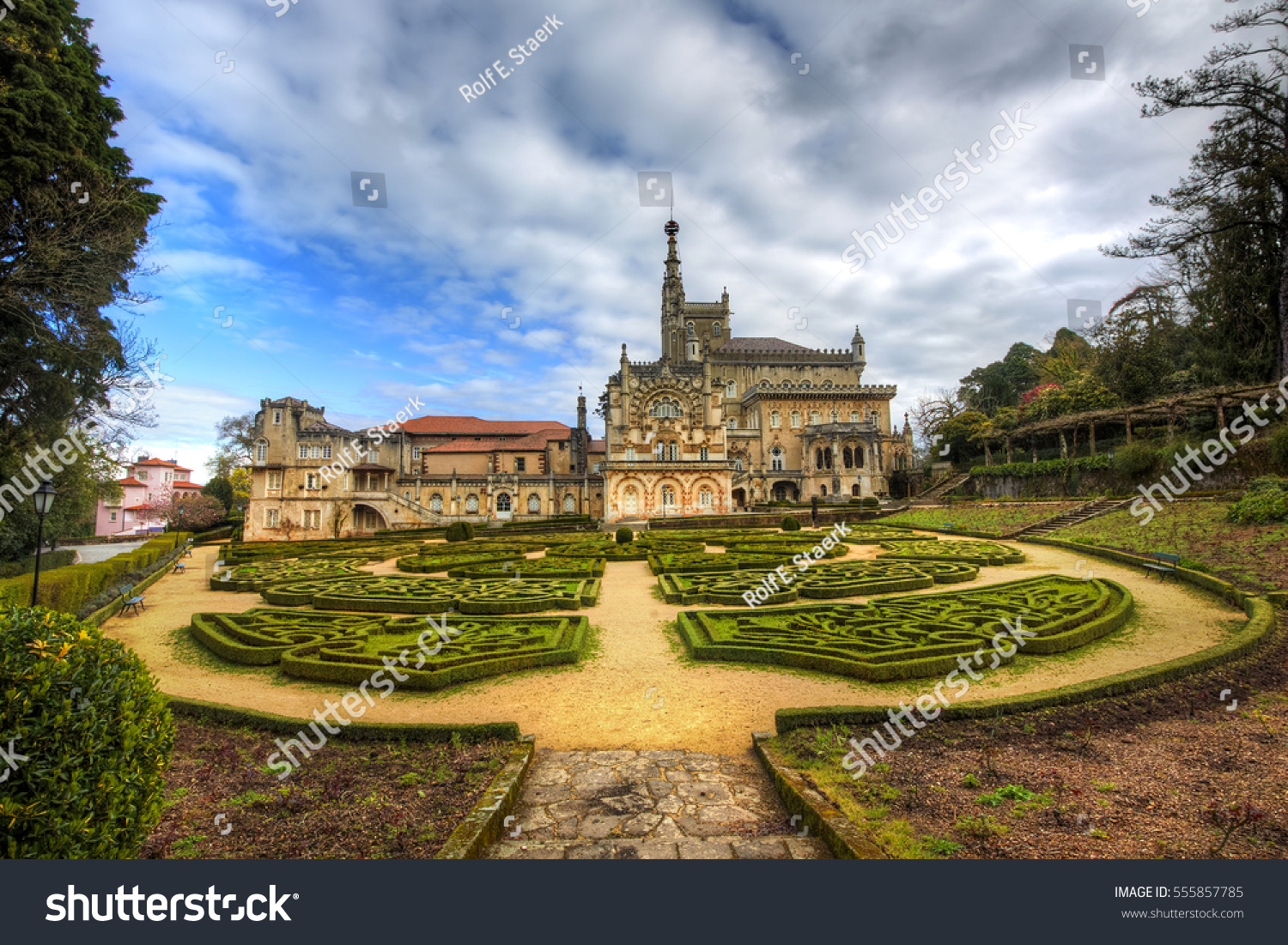 Bucaco Palace and Gardens, Serra do Bucaco, Mealhada, Portugal #555857785