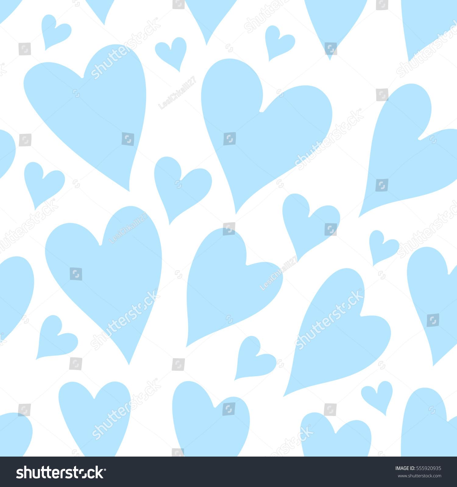 light blue heart background - photo #39