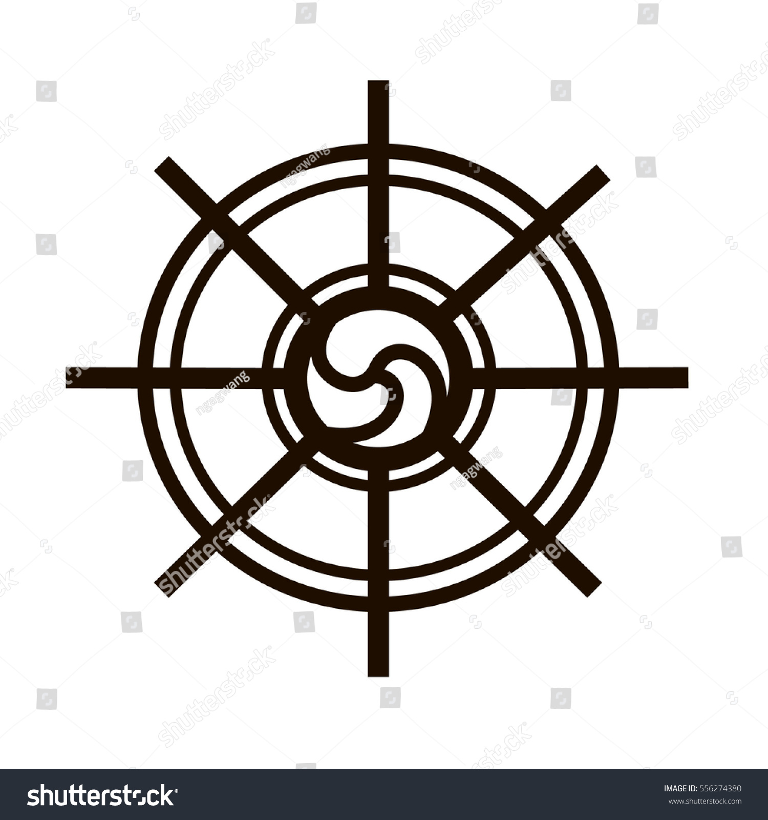 Buddhist symbol dharmachakra stock vector 556274380 shutterstock buddhist symbol dharmachakra biocorpaavc Images