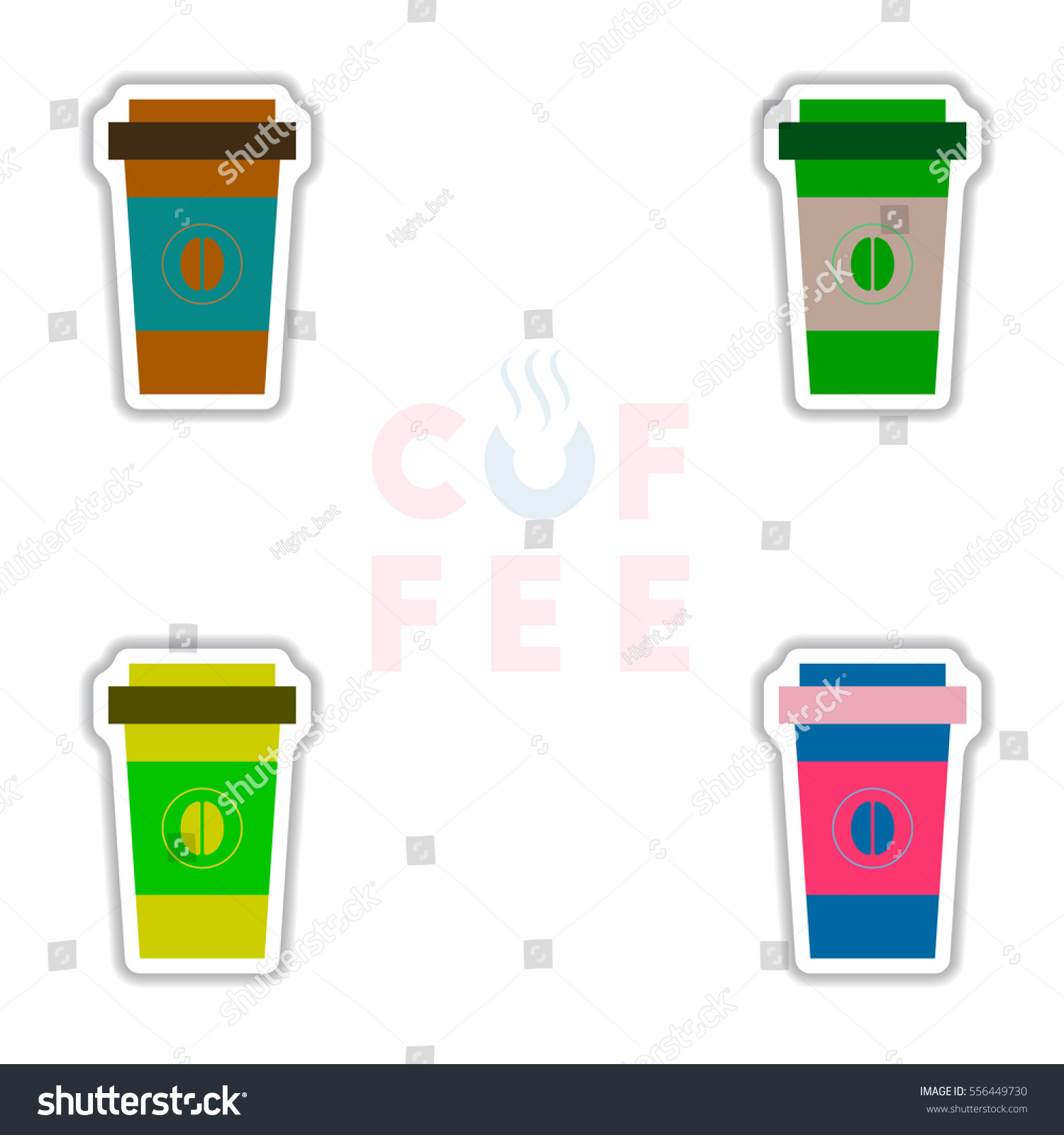 Label Frames Badges Vector Icon Design Stock Vector (Royalty Free ...