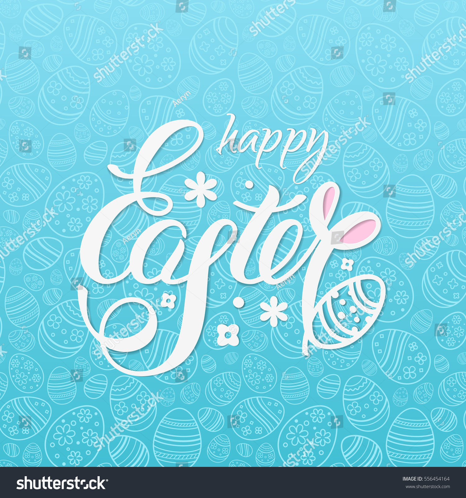 Happy Easter Vector Illustration Design Posters Stock ...