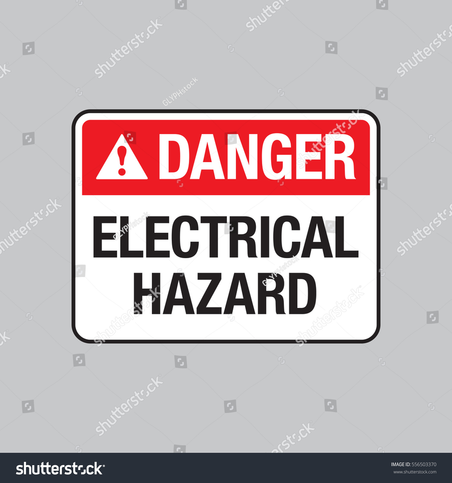 Vector Danger Sign Warning You That Stock Photo (Photo, Vector ...