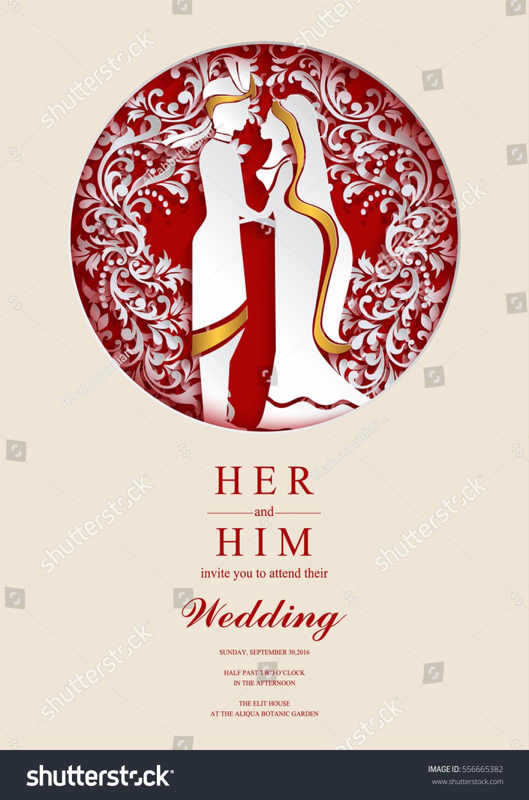 Beautiful Wedding Invitations Design Templates Images - Invitations ...