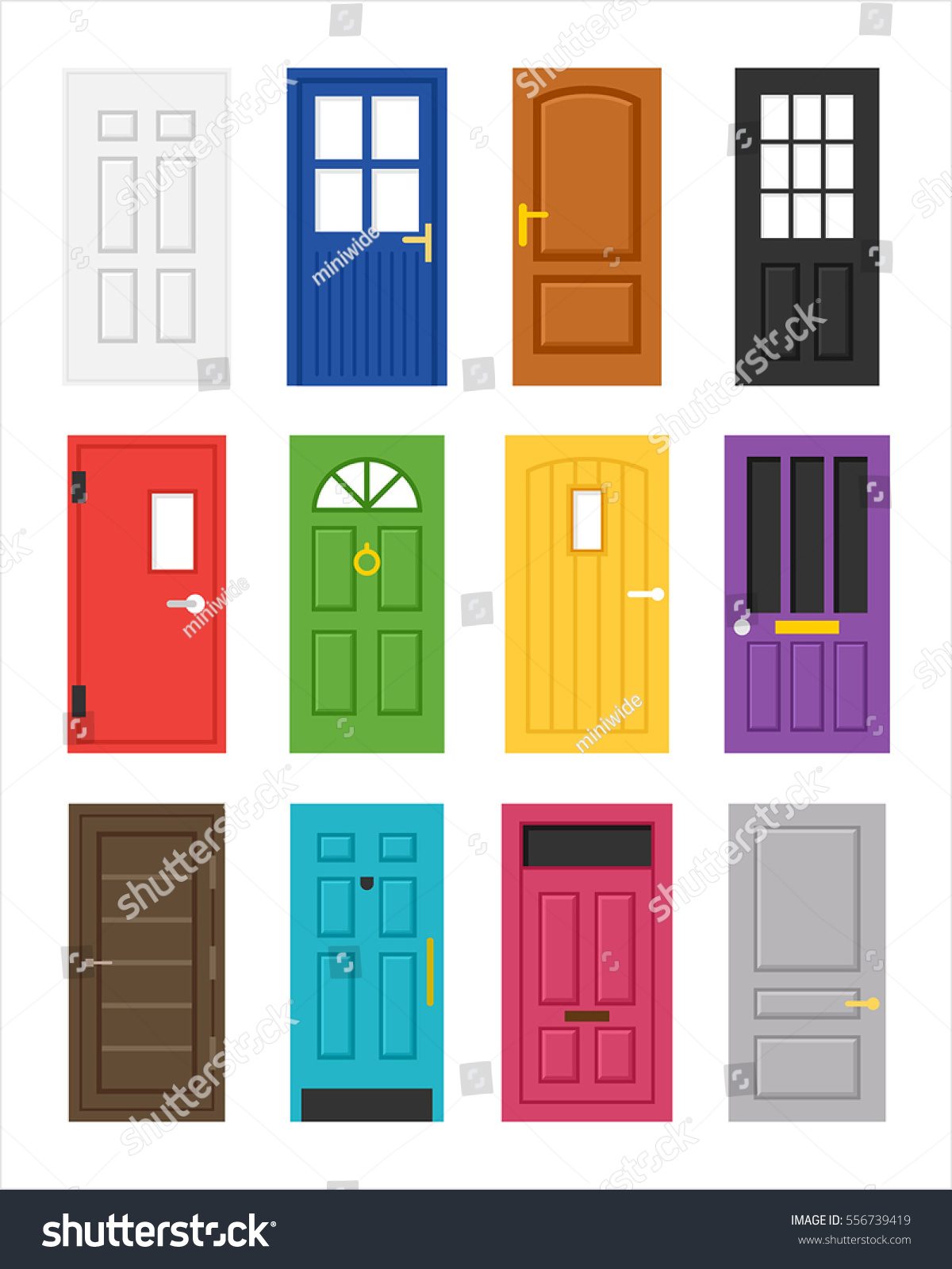 doors style ideas paint door glazed for of interior decor styles image hot modern home