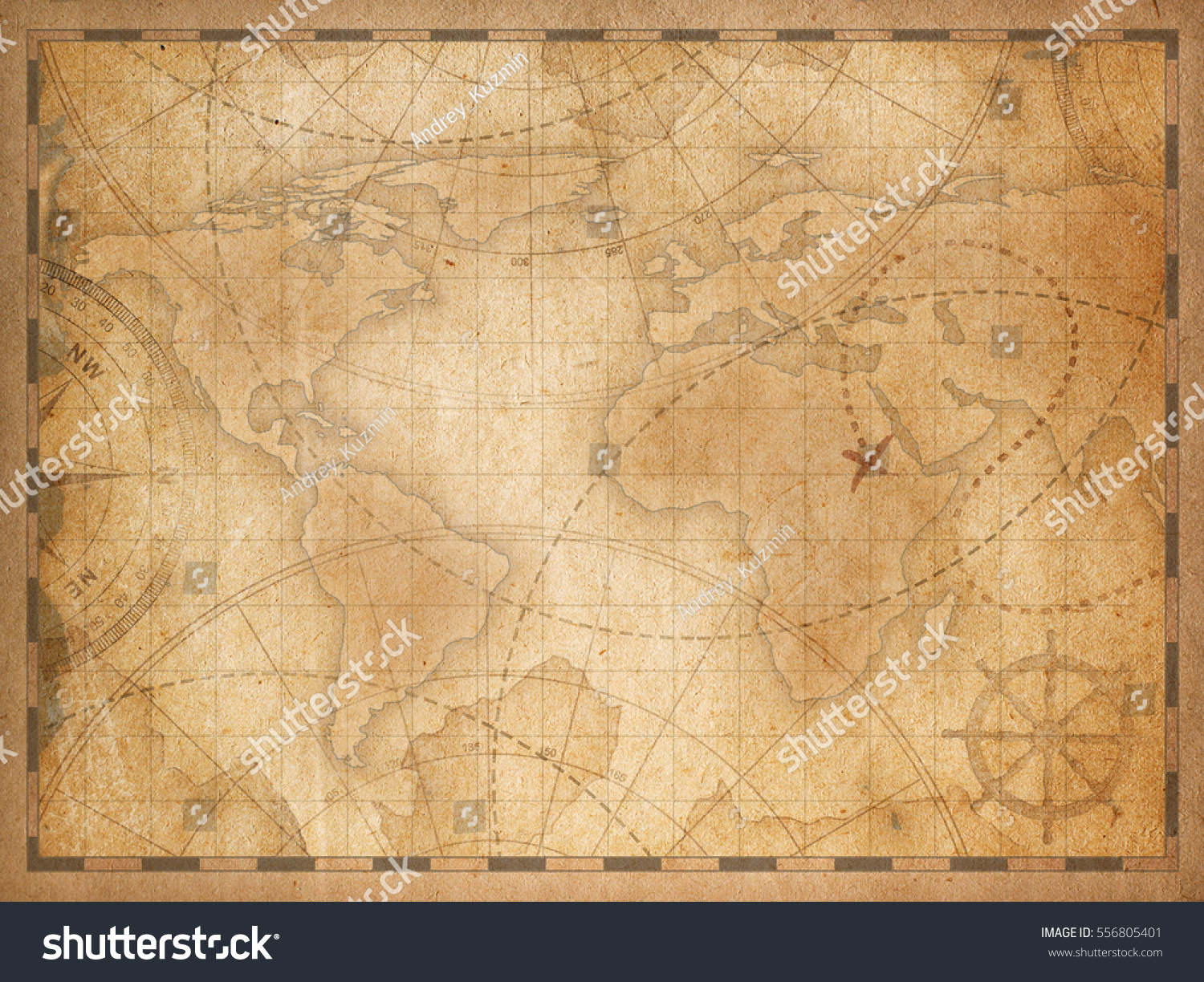 Royalty free old world map background 556805401 stock photo old world map background 556805401 gumiabroncs Gallery