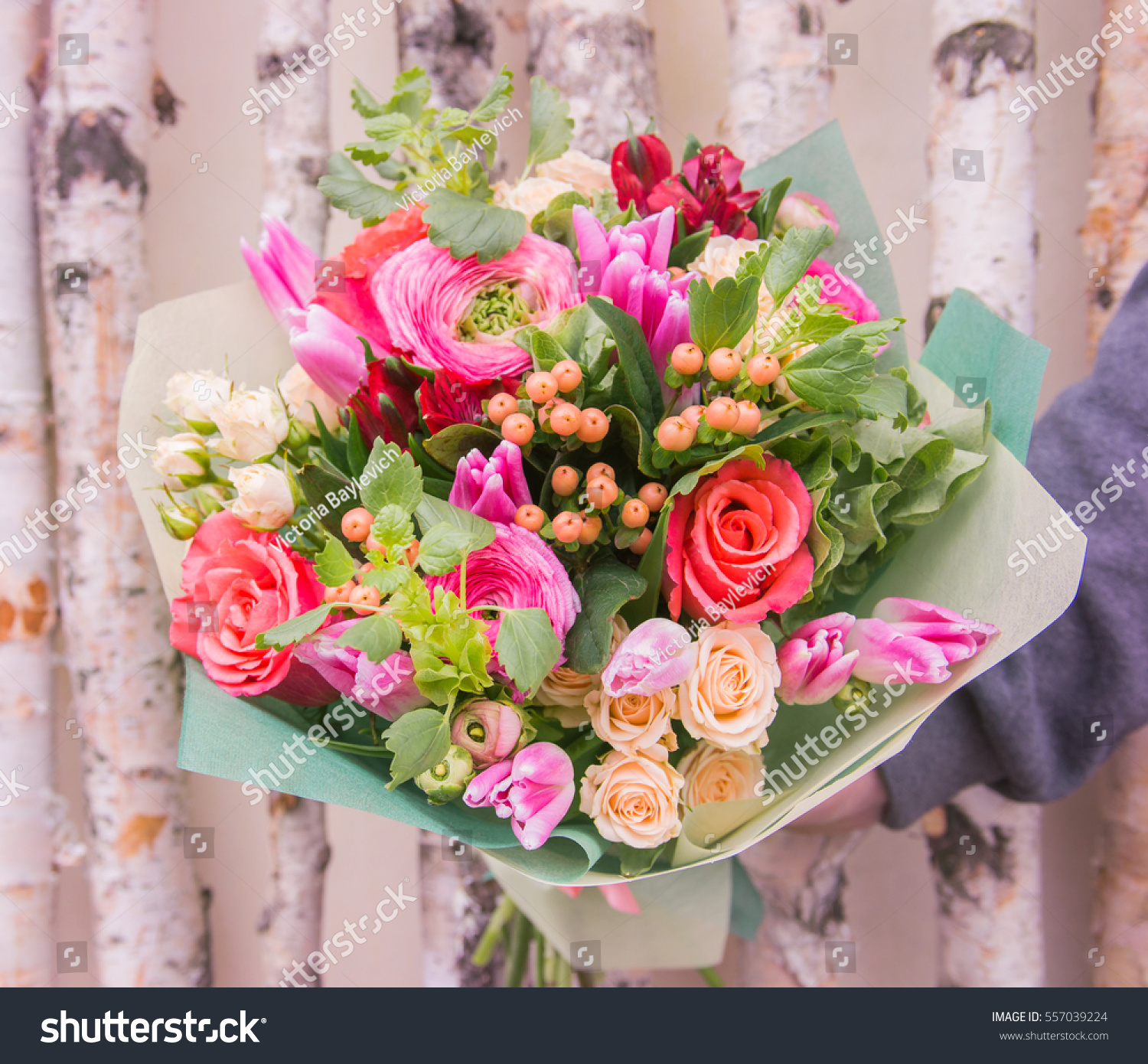 Beautiful flowers roses buttercups tulips alstroemeria stock photo beautiful flowers roses buttercups tulips alstroemeria beautiful bouquet of different flowers izmirmasajfo
