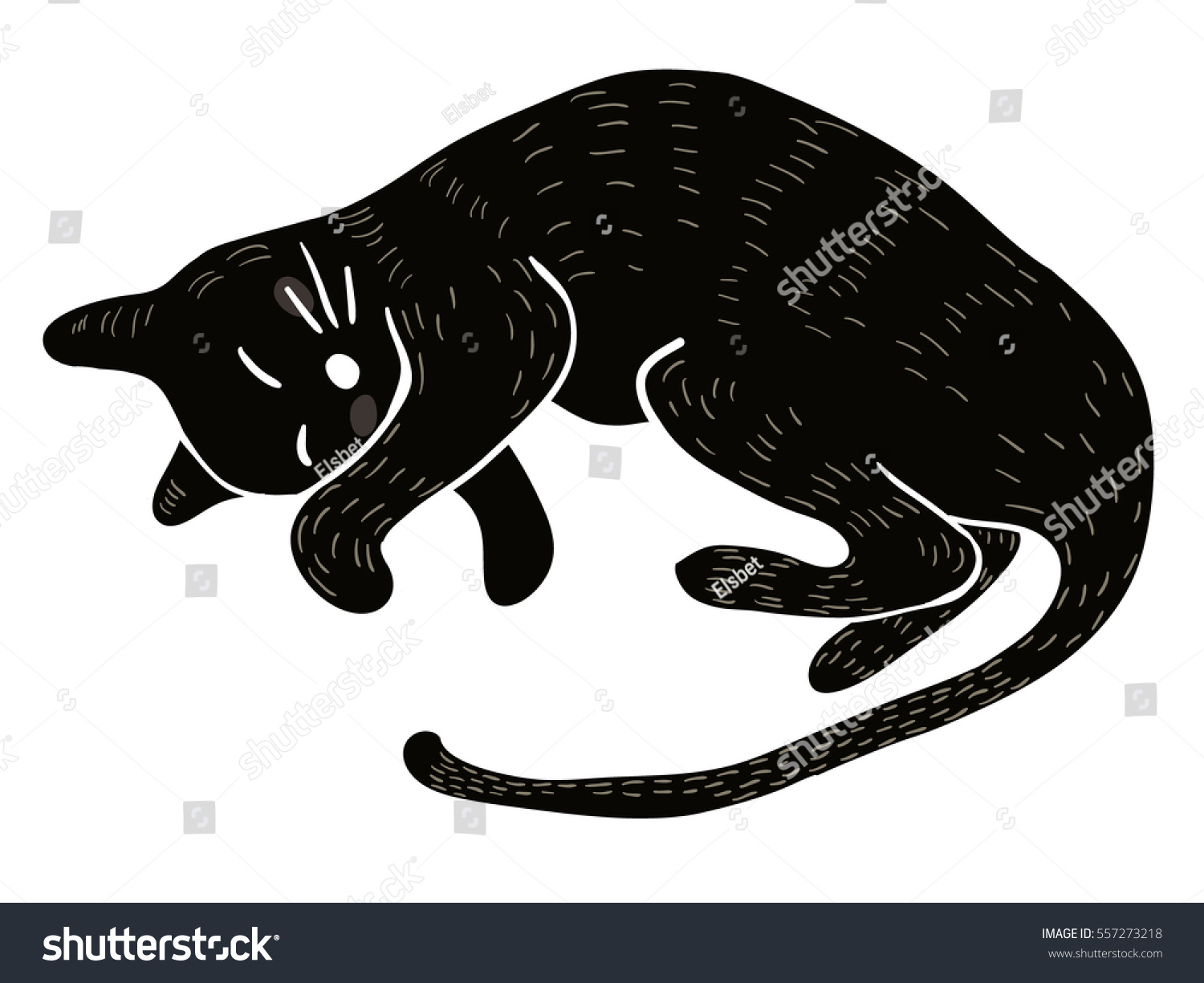 Sleeping Lovely Curled Black Cat Cartoon Stock Vector Royalty Free 557273218 2,353 black cat cartoon products are offered for sale by suppliers on alibaba.com, of which folk crafts there are 1,551 suppliers who sells black cat cartoon on alibaba.com, mainly located in asia. https www shutterstock com image vector sleeping lovely curled black cat cartoon 557273218