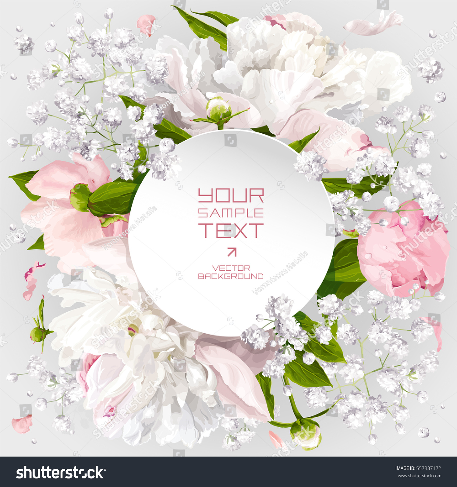 Romantic flower invitation greeting card wedding stock vector romantic flower invitation or greeting card for wedding decoration valentines day sales and other kristyandbryce Images